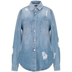 《セール開催中》MOSCHINO レディース デニムシャツ ブルー 38 コットン 100%