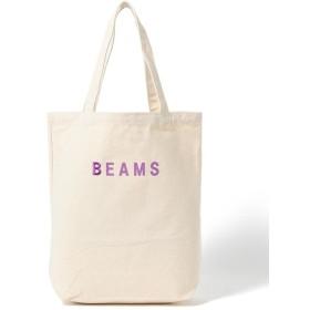 ビームス メン BEAMS / BEAMSロゴ トートバッグ 19FW メンズ PURPLE - 【BEAMS MEN】