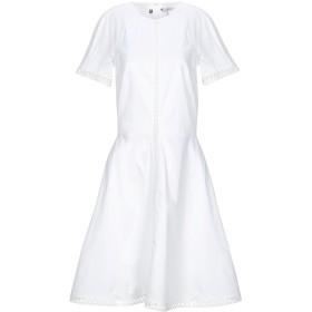 《セール開催中》TOMMY HILFIGER レディース ミニワンピース&ドレス ホワイト 2 コットン 100%