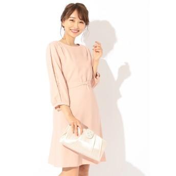 【オンワード】 any SiS(エニィスィス) 【洗える】レーススリーブサックワンピース ドレス ピンク 2 レディース 【送料無料】