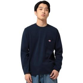 (ビームス)BEAMS/カットソー/DANTON(ダントン) / ポケット ロング スリーブ Tシャツ メンズ ネイビー 38