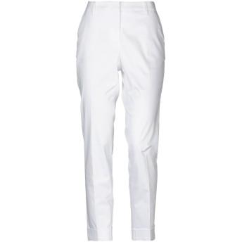 《セール開催中》CAPPELLINI by PESERICO レディース パンツ ホワイト 42 コットン 96% / ポリウレタン 4%