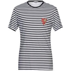 《期間限定セール開催中!》DANIELE ALESSANDRINI HOMME メンズ T シャツ ダークブルー S コットン 100%