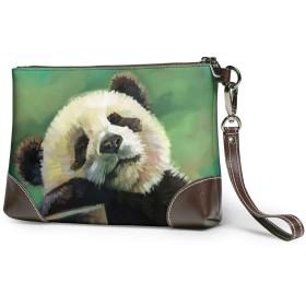 クラッチバッグ ビジネスバッグ バッグ 防水バッグ パンダ セカンドバック メンズ レディース 鞄 人気 クラッチ 本革