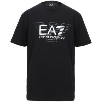 《セール開催中》EA7 メンズ T シャツ ブラック XXS コットン 100%
