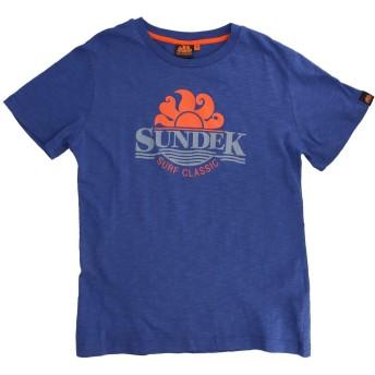 《セール開催中》SUNDEK ボーイズ 3-8 歳 T シャツ ブルー 6 コットン 100%