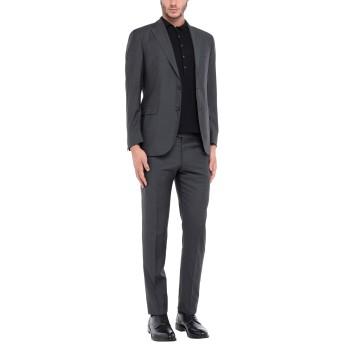 《セール開催中》TOMBOLINI メンズ スーツ スチールグレー 50 バージンウール 100% / レーヨン
