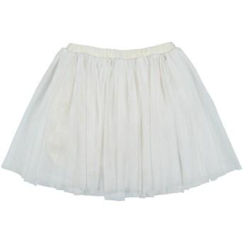 《セール開催中》TWINSET ガールズ 9-16 歳 スカート アイボリー 12 ポリエステル 100%