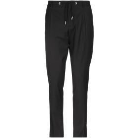 《期間限定セール開催中!》HSIO メンズ パンツ ブラック 52 ウール 45% / ポリエステル 28% / レーヨン 25% / ポリウレタン 2%