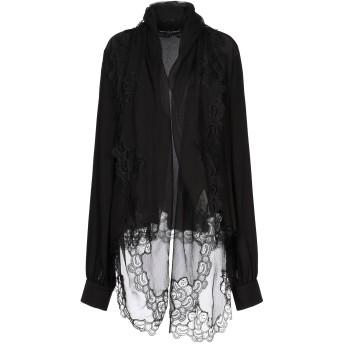 《セール開催中》ERMANNO SCERVINO レディース シャツ ブラック 44 シルク 100% / ナイロン