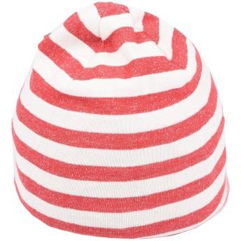 《セール開催中》BABE & TESS ボーイズ 0-24 ヶ月 帽子 レッド 9 コットン 100%