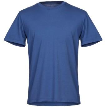 《セール開催中》ALTEA メンズ T シャツ ブルー M コットン 100%