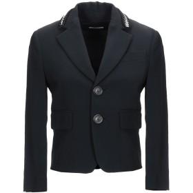 《セール開催中》DSQUARED2 レディース テーラードジャケット ブラック 38 66% レーヨン 30% アセテート 4% ポリウレタン