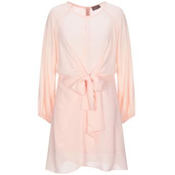 《セール開催中》SOALLURE レディース ミニワンピース&ドレス ピンク 40 ポリエステル 100%