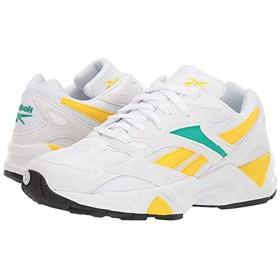 [リーボック] レディーススニーカー・靴・シューズ Aztrek 96 White/Emerald/Toxic Yellow (26cm) B - Medium [並行輸入品]
