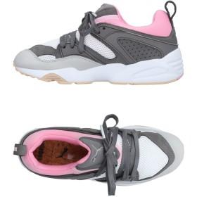 《セール開催中》PUMA メンズ スニーカー&テニスシューズ(ローカット) グレー 7.5 紡績繊維