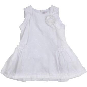 《セール開催中》SCERVINO STREET GIRL ガールズ 0-24 ヶ月 ワンピース・ドレス ホワイト 6 コットン 100%