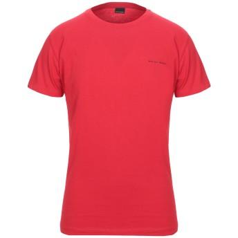 《セール開催中》WHY NOT BRAND メンズ T シャツ レッド S コットン 100%