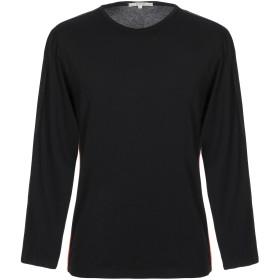 《期間限定セール開催中!》DIKTAT メンズ T シャツ ブラック L コットン 92% / ポリウレタン 8%