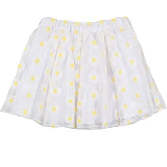 《セール開催中》SHE. VER CHIC ガールズ 3-8 歳 スカート ホワイト 8 ポリエステル 100%