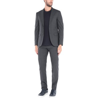《セール開催中》BOGLIOLI メンズ スーツ 鉛色 48 バージンウール 100%
