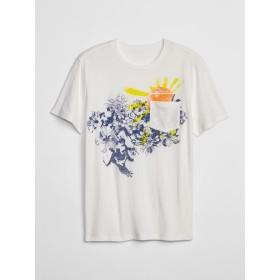Gap グラフィックポケットTシャツ