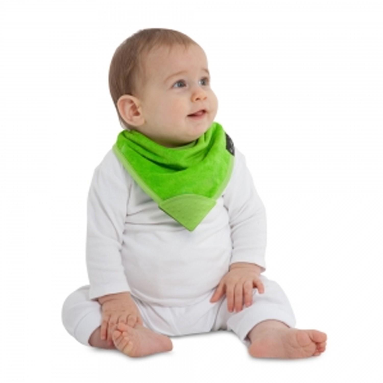 Mum 2 Mum - 機能型神奇三角咬咬兜口水巾圍兜-萊姆綠