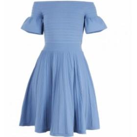 テッドベーカー Ted Baker レディース ワンピース スケータードレス ワンピース・ドレス criptum knitted skater dress Blue
