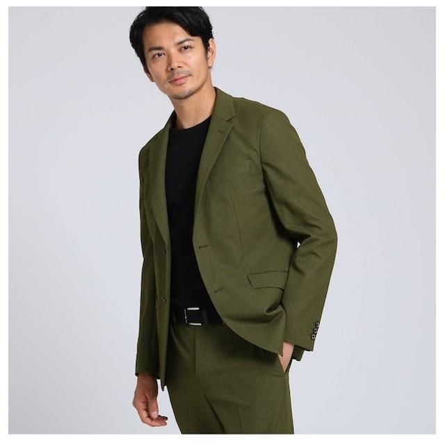 【タケオキクチ/TAKEO KIKUCHI】 テックストレッチ メランジ ジャケット