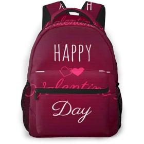 リュック バック 幸せなバレンタインデー373, リュックサック ビジネスリュック メンズ レディース カジュアル 男女兼用大容量 通学 旅行 鞄 カバン