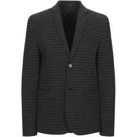《期間限定セール開催中!》IMPERIAL メンズ テーラードジャケット ブラック XL ポリエステル 75% / レーヨン 18% / ポリウレタン 7%