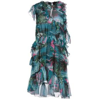 《セール開催中》MSGM レディース ミニワンピース&ドレス ディープジェード 40 ポリエステル 100%