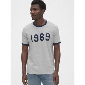 Gap プレミアム1969ロゴリンガーTシャツ