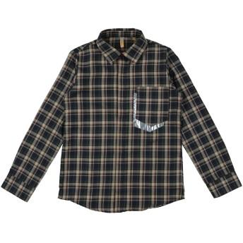 《セール開催中》MUM OF SIX ボーイズ 9-16 歳 シャツ ダークグリーン 10 コットン 50% / ポリエステル 50%