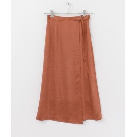 [マルイ]【セール】レディススカート(KBF+ ラップサテンスカート)/KBF(KBF)