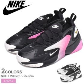NIKE ナイキ スニーカー ズーム 2K ZOOM 2K AO0354 レディース 靴 白 黒 シューズ ブランド