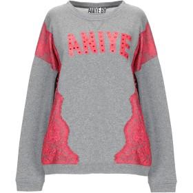 《セール開催中》ANIYE BY レディース スウェットシャツ グレー S コットン 60% / ポリエステル 40%