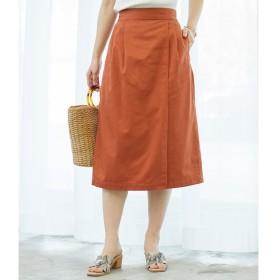 【ロペピクニック/ROPE' PICNIC】 ラップ風アイラインスカート