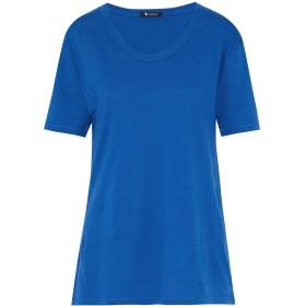 《期間限定セール開催中!》ALEXANDERWANG.T レディース T シャツ ブルー L コットン 100%