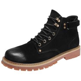 [シュウカ] クラシック ワークブーツ メンズ ブーツ メンズブーツ ワークブーツ レザーブーツ 26.5cm メンズ クラシック レザー ワーク ブーツ ブラウン レッド ブラウン セッターブーツ 黒 メンズブーツ ファッション シューズ 革 靴