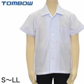 トンボ学生服 男子 半袖開襟カッターシャツ S~LL (取寄せ)