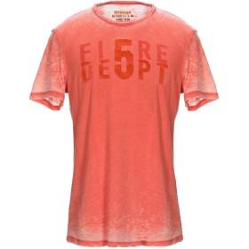 《セール開催中》BLAUER メンズ T シャツ コーラル M コットン 50% / ポリエステル 50%