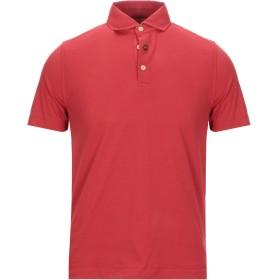 《セール開催中》HERITAGE メンズ ポロシャツ レッド 48 コットン 95% / ポリウレタン 5%