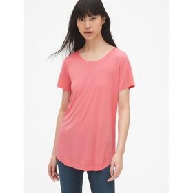 Gap リラックスクルーネックTシャツ(リュクスジャージ)