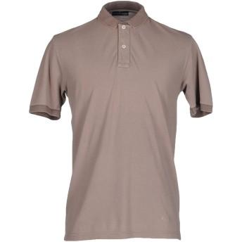 《セール開催中》BARBA Napoli メンズ ポロシャツ ドーブグレー 48 コットン 100%