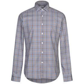 《期間限定セール開催中!》BAGUTTA メンズ シャツ ブルー 39 コットン 100%