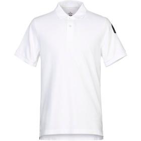《セール開催中》PARAJUMPERS メンズ ポロシャツ ホワイト M コットン 100%