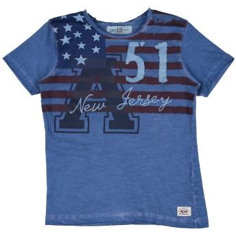 《セール開催中》HARMONT & BLAINE ボーイズ 3-8 歳 T シャツ ブルー 8 コットン 100%