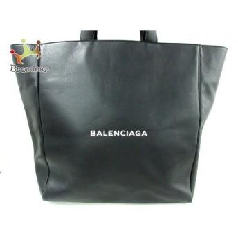 バレンシアガ BALENCIAGA トートバッグ - 485331 黒 レザー 新着 20200213