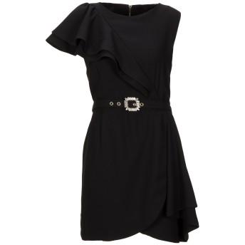 《セール開催中》NORA BARTH レディース ミニワンピース&ドレス ブラック 44 ポリエステル 100%